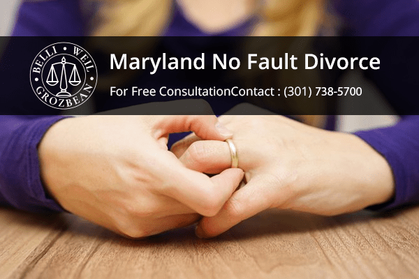 Maryland No Fault Divorce